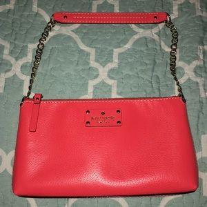 Coral Kate Spade purse